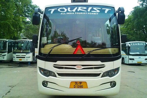 35 Seater Ac Deluxe Tata Bus - Deluxe Bus Rental Delhi - Car Rental Delhi