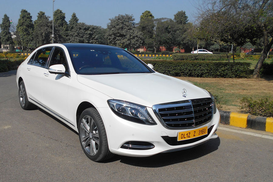 Hire Mercedes Benz S Class 350 Car Rental Delhi