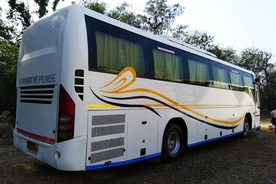 Volvo Bus Booking Delhi Volvo Bus On Rent Delhi Volvo