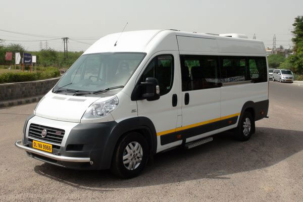 Fiat Ducato 12 Seater - Imported Luxury Vans Rental Company - Car Rental Delhi