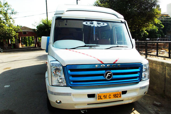Force Ultra Luxury 11 Seater 1x1 Maharaja Seats - Imported Luxury Vans Rental Company - Car Rental Delhi