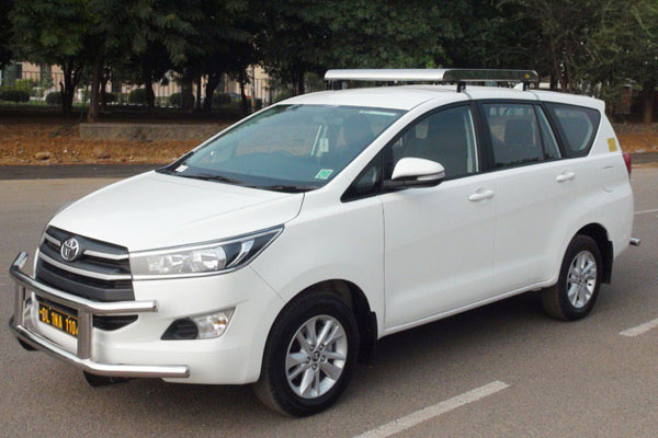 More Details About Car Hire Toyota Innova Crysta